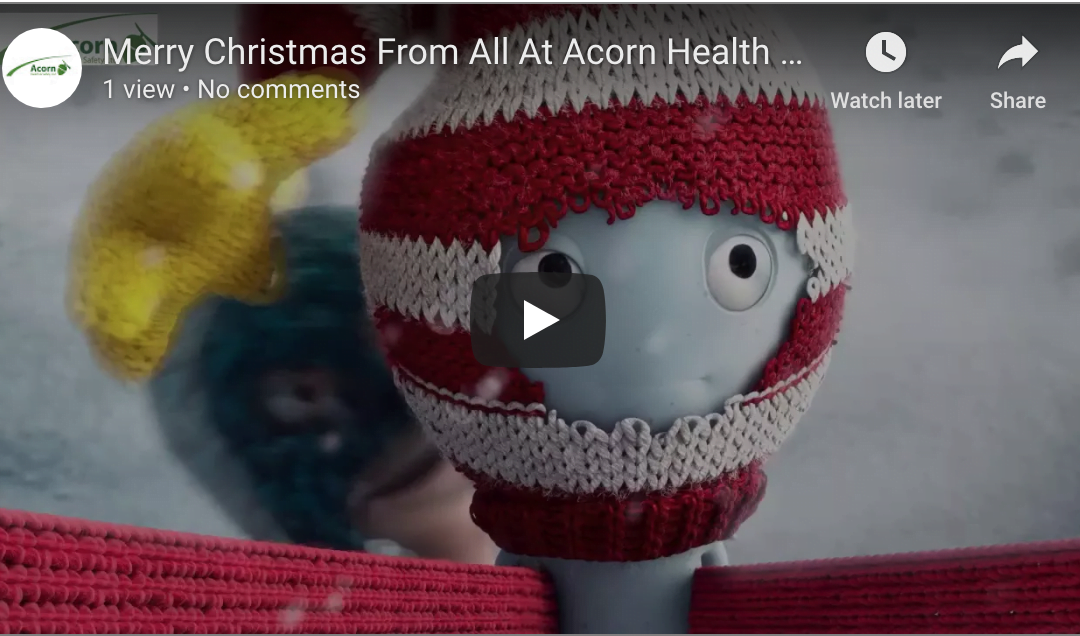 Merry Christmas From Acorn Health & Safety Bristol