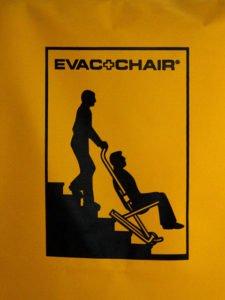 evac chair 2