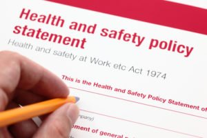 Do I need a written health and safety policy?
